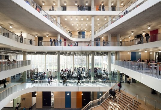 City of Westminster College, schmidt hammer lassen, sustainable campus, daylighting, green building, sustainable architecture