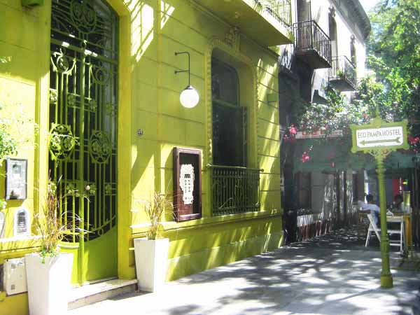 Welcome to the first eco-hostel in Buenos Aires