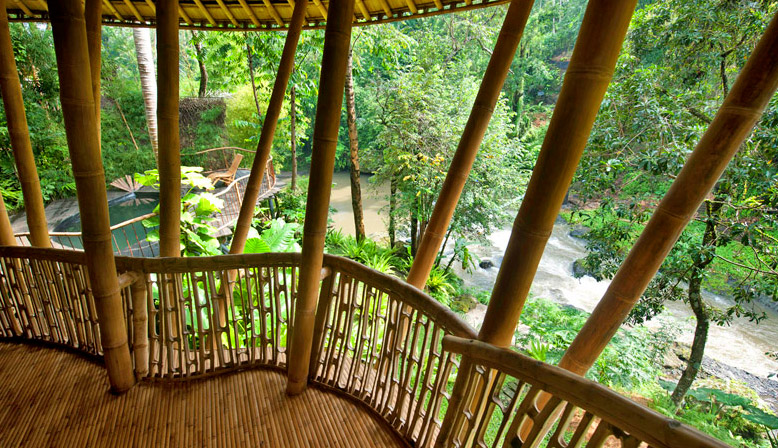 Tour This Incredible Green Village In Bali Of All Bamboo Homes Crafted By Ibuku