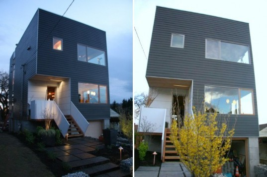 Greenfab opens new model prefab for tours in seattle for Prefabricated homes seattle