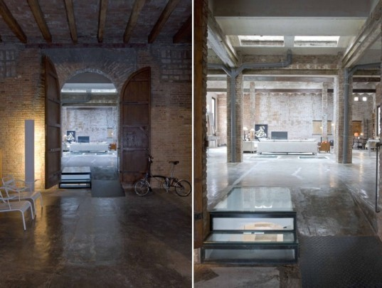 Barcelona Printing Press Renovated Into Industrial Chic