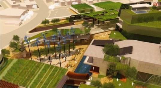 Inglewood, Eco Master Plan, (fer) studio, living walls, urban design, urban redevelopment
