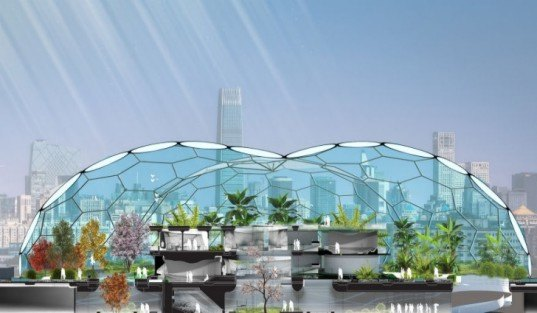 LAVA, Home of the Future, geodesic dome, etfe bubbles, futuristic home, green design, sustainable architecture