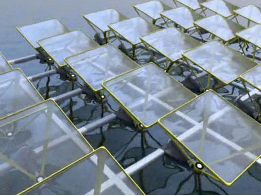 Sunengy Develops New Floating Liquid Solar Arrays To Maximize Energy Output  Of Hydro Plants