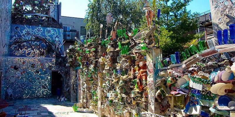 Philadelphiau0027s Magic Garden Mosaic Of Recycled Materials | Inhabitat    Green Design, Innovation, Architecture, Green Building