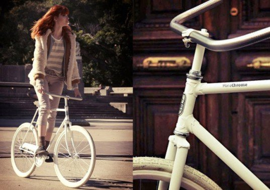Argentina, Buenos Aires designer, Recycled Materials, Green Transportation, Green products, Bike in style, Bicycle concept vehicle, Bike basket, Monochrome bike