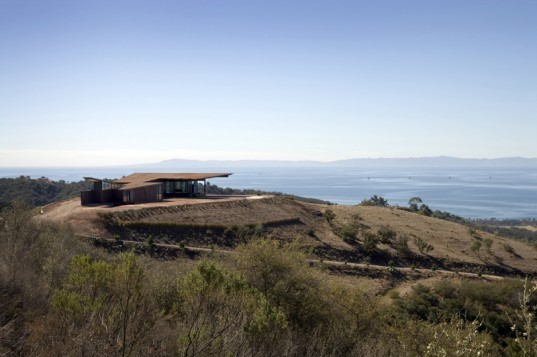 Montecito Residence, inhabitat interview, tom kundig, tom kundig interview, interview olson kundig architects, green architects, seattle architecture, pacific northwest architecture, sustainable architecture, sustainable design