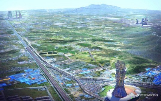 Nanjing Masterplan, ck designworks, eco city, sustainable masterplan, china, monorail, urban design