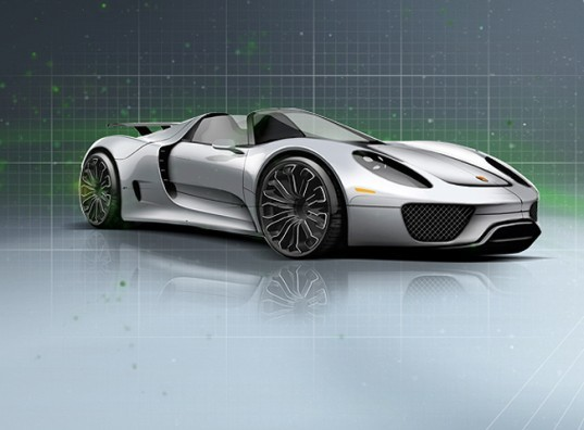 Porsche, Spyder 918, Hybrid Car, Lithium-ion battery, Electric Sports Car, alternative Energy, 918 spyder, electric car, electric vehicle, ev, geneva auto show, hybrid car, plug-in hybrid, porsche