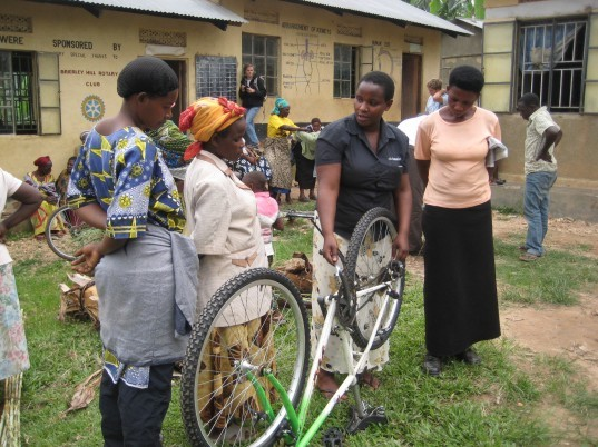social organization, bike lending, uganda organization, grassroots group, uganda bike-lending, bicycle rental, social bicycle scheme