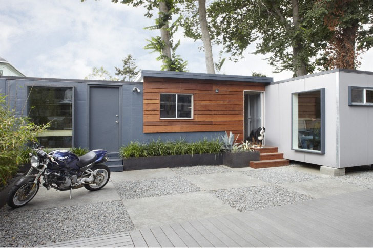 Charmant ... Shipping Container Work Space. Architecture