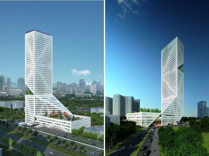 Sustainable Mixed Use Urban Tower For Shenzen By Workac