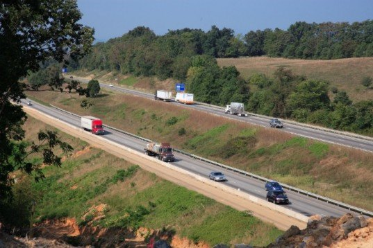 virginia dot, recycling interstate 81, virginia i81 recycling, green technologies, road recycling