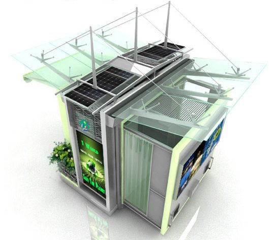 Ecokiosk Is A Solar Powered Solution For Street Vendors