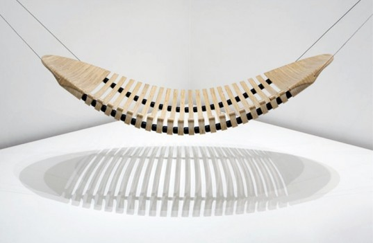 Adam Cornish, wooden hammock, sustainable furniture design, Herman Miller, Herman Miller design competition, Yves Behar, plantation plywood furniture, Workshopped, SAYL Chair, eco design, eco furniture, green design