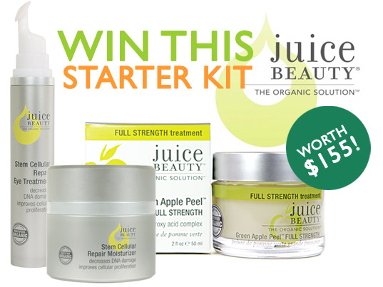 juice beauty giveaway, organic beauty products, juice beauty products, organic skin