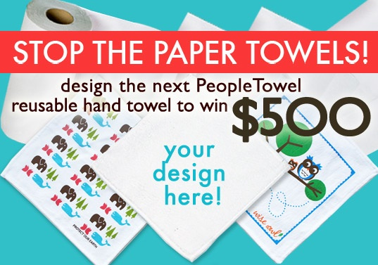 cloth towels, design contest, eco accessory, eco design, eco design competition, eco towels, green accessories, green contest, green design, green design competition, green graphics, green towels, inhabitat contest, paper towel waste, paper towels, people towels, People Towels Competition, peopletowels, reusable hand towels, reusable towels, sustainable design, sustainable design competition