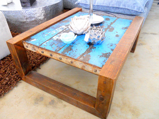 Charmant Shipwreck Furniture: One Of A Kind Nautical Furniture Made From Salvaged  Boats