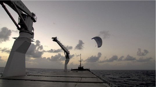 cargill shipping, skysails, cargill skysails, green shipping, cargill giant kites, skysails giant kites, kite propelled ships