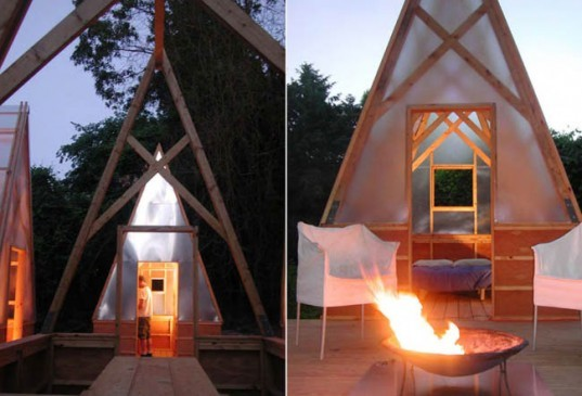 Moskow Lin Architects, Swamp Huts, architecture Boston, green outdoors, eco camping, eco getaways, eco huts, green huts, prefab architecture, prefab housing, prefab design
