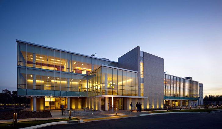 Uc Davis Student Health Center Targets Leed Gold