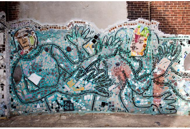 Philadelphias Magic Garden Is a Mosaic of Recycled Materials