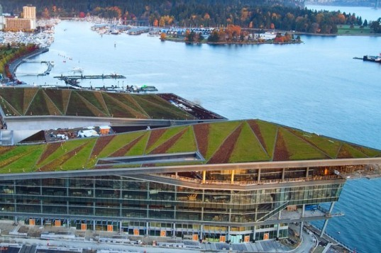 2011 COTE Awards, AIA, Top Ten Green, Vancouver Convention Centre, LMN Architects