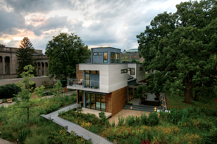 The greenest house in chicago is a self sufficient clean for Self sufficient house plans