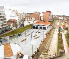 Spanish Train Station Renovated Into A Green-Roofed Youth & Public Art Center