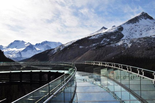 Glacier Skywalk, architecture and nature, sturgess architecture, discovery walk, discovery walk canada, tourist architecture, green design, bridges, building technology and nature, canada architecture, sunwapta valley, columbian icefields, tourism design