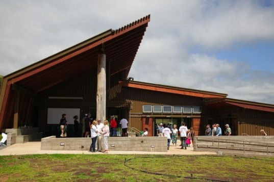 hawaii preparatory academy, energy lab, flansburgh architects, living building challenge, certified living building,