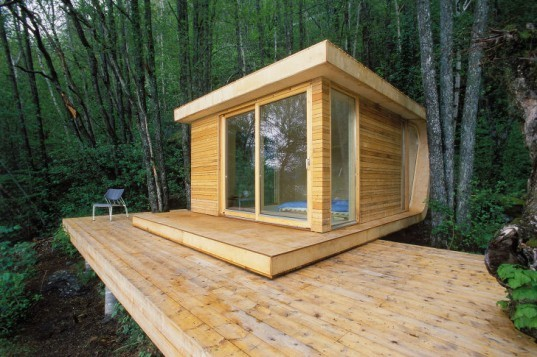 Hardanger Retreat, off grid, norway, saunders architecture, eco retreat, sustainable materials