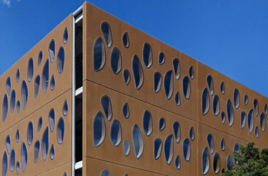Allen Jack+Cottier Architects ,eco school, green school, green school design, Sydney green building, Australia green building, passive cooling, prefabricated school, prefabricated wall,