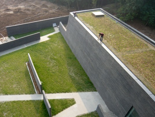nanjing, museum of art & architecture, steven holl, green design, sustainable architecture
