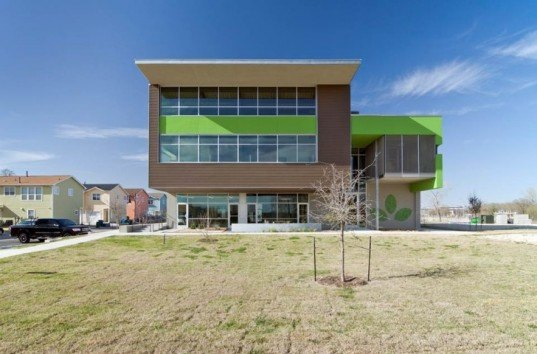 Peoplefund, non-profit offices, leed, Lawrence Group, Austin, Texas, green building