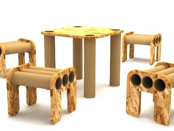 cardboard tube furniture. Displaying Ad For 5 Seconds Cardboard Tube Furniture R