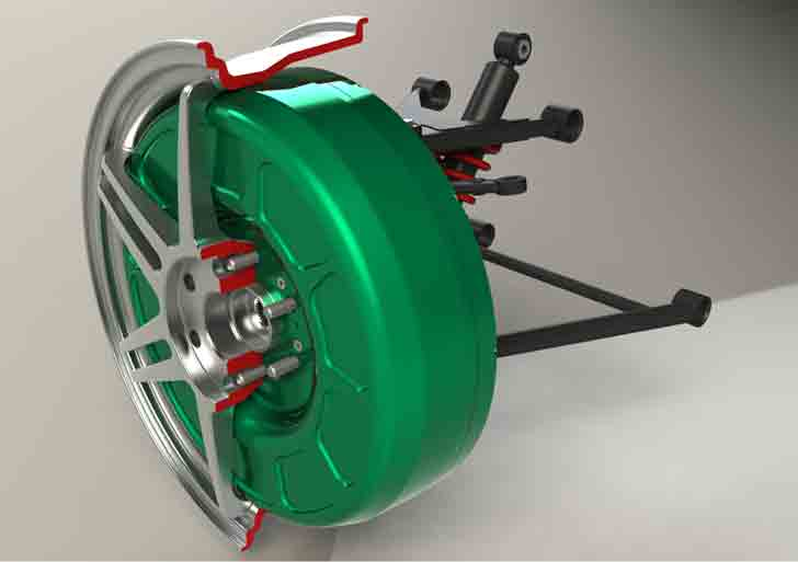 Protean Demonstrates That Its Electric Motors Can Drive An F150 From The Wheels