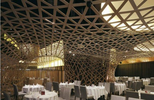 FCJC, China green interior, bamboo restaurant,eco restaurant, green restaurant, eco interior, bamboo interior,