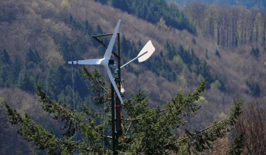 Treetop Wind Turbines
