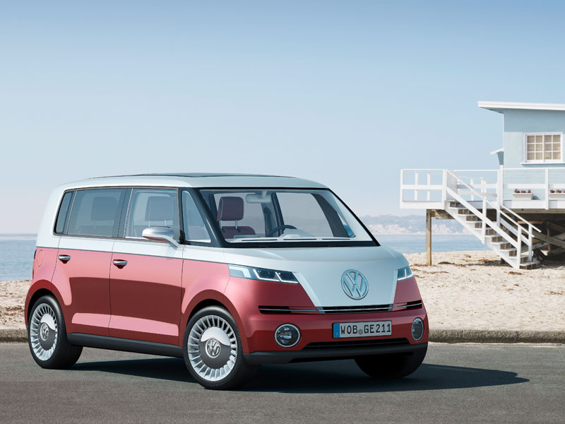 Bulli Volkswagen Releases An All Electric Concept Version Of The Clic Vw Bus