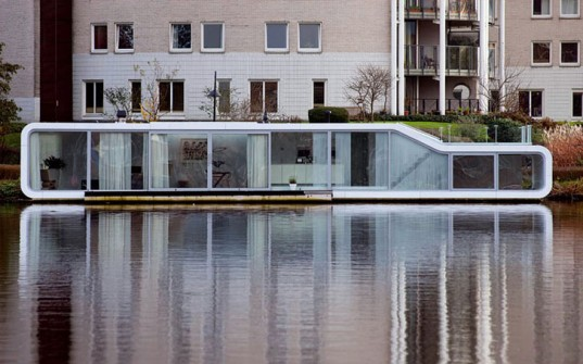 Elegant Architecture Amsterdam, Houseboats, Riverboats, Water Homes, Water Living,  +31 Architects