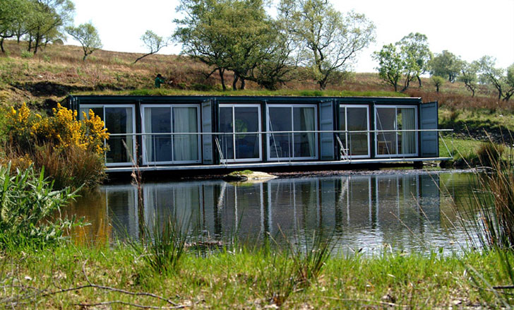 Cove Park Shipping Containers An Inspiring Cluster Of