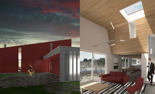 min day, minday, wedge house, green house, green home, eco home, green design, structural insulated panels , wedge home, stack effect, green architecture, eco architecture
