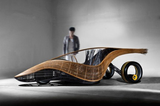 Kenneth Cobonpue, Phoenix, rattan car, bamboo car, biodegradable car, sustainable transportation, green transportation, green automotive design
