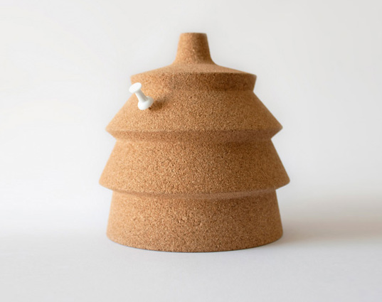 Pinha: A Cute Cork Lamp That You Can Personalize With A Pin | Inhabitat    Green Design, Innovation, Architecture, Green Building