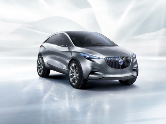 Buick Envision, Plug-in Hybrid, Shanghai, concept car, green transportation, alternative transportation, green automotive design