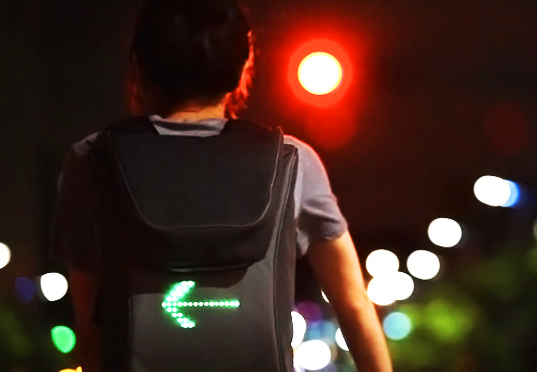green technology, Green Materials, Green Lighting, eco travel bag, clean tech, accesories and fashion, green backpack, korean design, bicycle safety lights, bicycle accesories, Hanji paper
