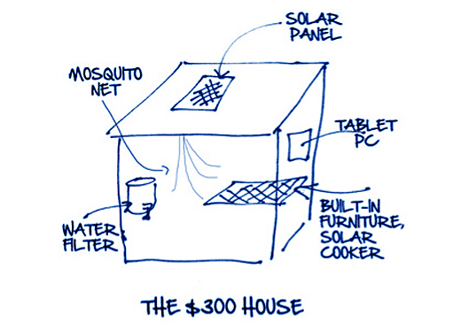 Rahul Mehrotra, Bob Freling, Stuart Hart, Harvard Business Review Blog, Ingersoll Rand's Center for Energy Efficiency and Sustainability, $300 House, prefab housing, Architecture Contest, Yves Behar,