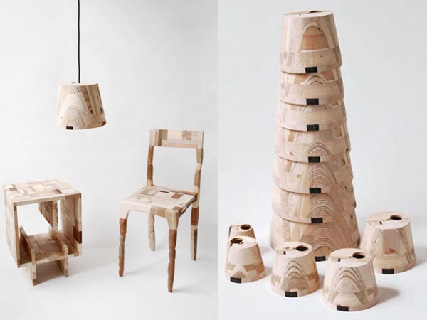 Amy Huntingu0027s Wooden Patchwork Furniture Includes One Off Masterpieces  Amy Hunting Wood Patchwork Furniture 5 U2013 Inhabitat   Green Design,  Innovation, ...