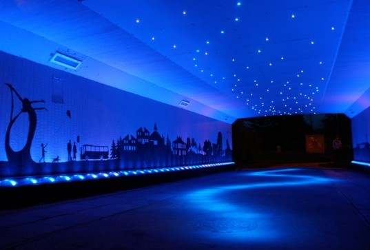 Bigg Design Transforms A Drab Scottish Underpass With